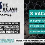 8 nieuwe vacatures bij DROSTE BEJAH in Hardenberg!